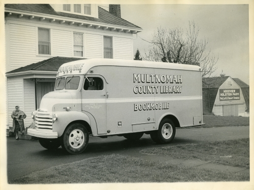 bookmobile, portland oregon, multnomah county